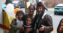 Captain Jack with Andre of Bambini's Boutique