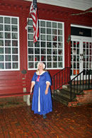Mila during the Occoquan Ghost Walk