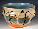 """Planter"" by Marianne Cordyack – (Salt-fired Pottery)"