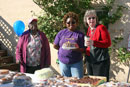Ruby and other Volunteers at the Bake Sale