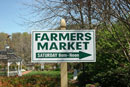 The Official Occoquan Farmer's Market Sign