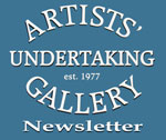 Artist Undertaking Newsletter